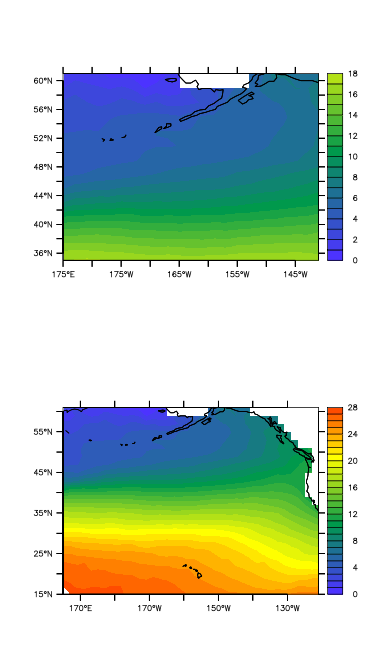 comparison of by-value palette ocean_temp